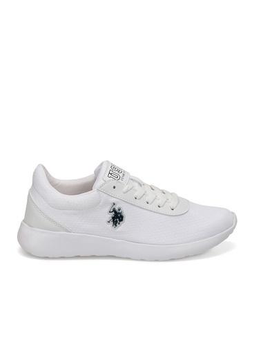 U.S. Polo Assn. Rainy Kadın Sneaker Ayakkabı Beyaz